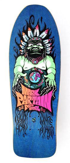 1988 Blockhead Skateboards Model: Mark Partain Pro Model Spe… – Graffiti World Old School Skateboards, Vintage Skateboards, Skateboard Design, Skateboard Decks, Skate And Destroy, Skate Art, Skate Decks, Graffiti Lettering, Stain Colors