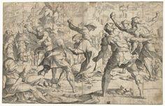 Steniging van Stephanus, Jan van Scorel, 1505 - before 1541