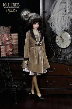LD000541 [1920s] Daisy (Evening Gown Version) [LD000541] - $99.90 : DollHeart, by DollHeart.com
