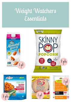 healthy snacks - Weight Watchers Essential Shopping List Botch and Learn Weight Watchers Snacks, Weight Watchers Tipps, Weight Watchers Points List, Weight Watcher Shopping List, Weight Watchers Program, Weight Watchers Meal Plans, Weight Loss, Weight Watchers Products, Healthy Breakfasts