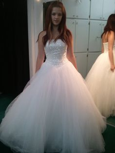 SALE Oleg Cassini Wedding Dress. $800.00, via Etsy.