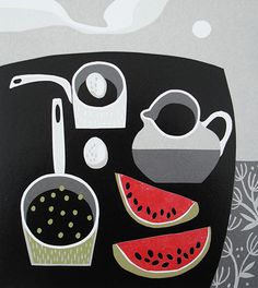 Peas in a pan. Jane Walker