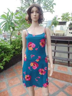 90s Blue Floral Printed Sleeveless Summer Dress Maxi  $12.00 USD Only 1 available  https://www.etsy.com/listing/190128174/90s-blue-floral-printed-sleeveless?ref=listing-10  https://www.facebook.com/pages/Savvy-Ladies/796694807024977