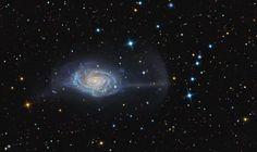 Umbrella Galaxy NGC 4651.