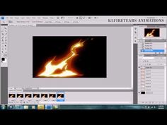 Animation Photoshop Effects Fireballs and Flames