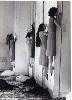 Pina Bausch, Blaubart (performance), 1977. Must have been the inspiration behind the new AHS Coven teaser. http://www.youtube.com/watch?v=ucEAhAaOaHw