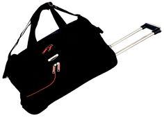 Tosca Gold Ultralight Duffel Bag On Wheels Skate Wheels, Shoulder Sling, Inline, Duffel Bag, Lady, Gym Bag, Twin, Handle, Colours