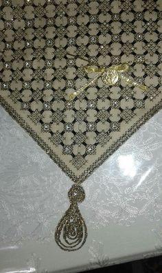 Cross Stitch, Diamond, Jewelry, Punto De Cruz, Dots, Jewlery, Jewerly, Seed Stitch, Schmuck