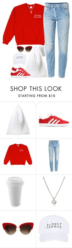 """Trip"" by oh-aurora ❤ liked on Polyvore featuring MM6 Maison Margiela, adidas Originals, Citizens of Humanity, Forzieri, Dolce&Gabbana and Nasaseasons"