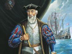 Vasco da Gama was geboren in het jaar 1460 of 1469. Ze weten niet precies wanneer hij geboren is. Vasco da Gama was een Portugese ontdekkingsreiziger die 1498 India bereikte. Hij is door deze reis heel beroemd geworden omdat hij de eerste persoon was die India bereikte. Hij deed dit via de zuidpunt van Afrika. Omdat hij over het water ging, liep hij niet vast met de tussenhandel. Dat was een groot voordeel voor hem. Vasco da Gama stierf op 24 december 1524.