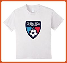 621e35740 Kids Costa Rica Soccer t Shirt Camiseta Futbol Playera Jersey Tee 6 White -  Sports shirts