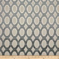 Refresh and modernize an old piece of furniture and update it with a new look. This heavyweight cut velvet upholstery fabric is appropriate for some window treatments, accent pillows, upholstering furniture, headboards and ottomans. Colors include ivory, grey and natural.