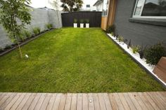 Next image >> Small Outdoor Spaces, Sidewalk, Deck, Yard, Exterior, House Design, Outdoor Decor, Image, Home Decor