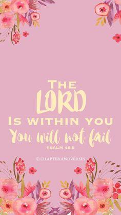 YOU WILL NOT FAIL - CHRISTIAN WALLPAPER/IPHONE SCREENSAVER/ FREE DOWNLOADABLE WALLPAPER