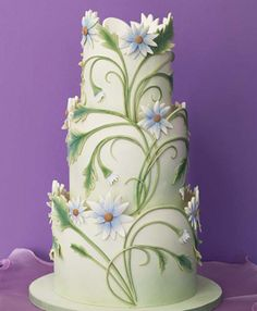 Brides Magazine: The 50 Most Beautiful Wedding Cakes  mikesamazingcakes.com