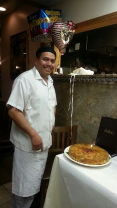 Happy birthday Chef Anival