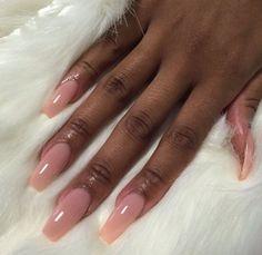 Acrylic nails coffin pink, pink nail, coffin nails, dope nails, nails on fl Aycrlic Nails, Dope Nails, Hair And Nails, Bio Gel Nails, Nails 2018, Perfect Nails, Gorgeous Nails, Pretty Nails, Cute Acrylic Nails