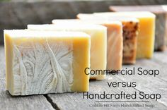 "Commercial ""Soap"" vs. Handcrafted Soap - What's The Difference?"