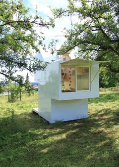 Mobile Forschungsstation in Weimar / Klappe auf, Klappe zu - Architektur und Architekten - News / Meldungen / Nachrichten - BauNetz.de