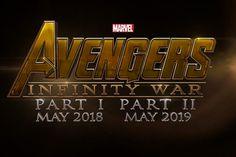 Avengers Infinity Wars Part 1 & 2