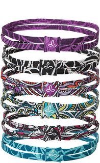 prAna Printed Double Headband- these are great for holding back your bangs during an intense workout!