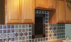 "Wedgewood Blue 4'x4"" Vinyl Wall Tiles 3 Square Feet Kitchen and Bath Backsplash: Home & Kitchen"