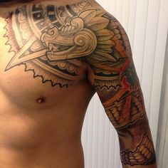Tattoo-Journal.com - THE NEW WAY TO  DESIGN YOUR BODY | 25 Tribal Unique Aztec Tattoo Designs – Ideas and Meanings | http://tattoo-journal.com
