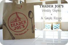 Trader Joe's Favorites + Recipe