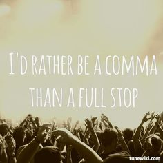 yes!  Every Teardrop is a Waterfall lyric