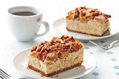 Apple-Pecan Cheesecake ..... Imagine a cheesecake topped with a scrumptious mashup of pecan pie and apple pie—sweet with brown sugar, fragrant with cinnamon. Like the idea? Try this.