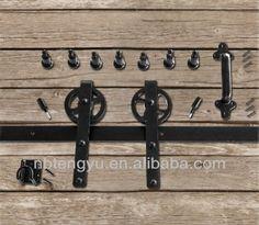 Schiebetüren scheunentor hardware, schiebetürbeschläge, 6ft flache Strecke, modell swd11