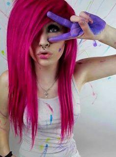 Pink / Hair / Haare