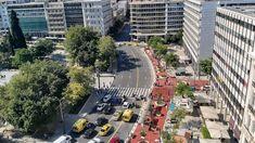 Ο Μεγάλος Περίπατος της Αθήνας: Άλλαξε όψη το Σύνταγμα (εικόνες) Times Square, Politics, Travel, Colors, Viajes, Destinations, Colour, Traveling, Trips