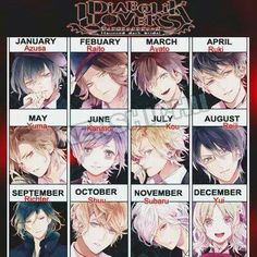 Richter .................. god and i'm even in between Reiji and Shu why can't be born in August or October instead