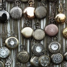 vintage pocket watches