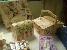 Cajas de diferentes formas y estilos....