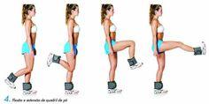 malhar as pernas exercicios