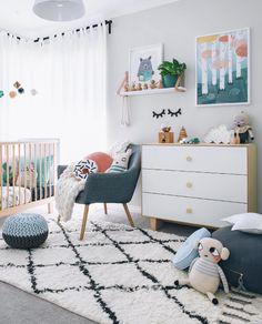 Love this gender neutral nursery