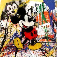 Mickey Mouse, 2013 / Mr Brainwash