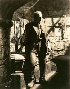 """Frankenstein's monster - """"The Bride of Frankenstein"""" Boris Karloff Boris Karloff, Movie Monsters, Creature Feature, Image, Wolfman, Lon Chaney Jr, Frankenstein, Hollywood Monsters, Film Stills"""