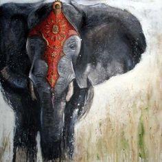 by Valerie Maugeri  I love elephants!