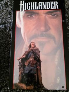 Highlander [VHS] Sean Connery Christopher Lambert GUC Box is Worn
