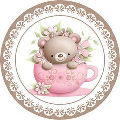 Kit Festa Chá de Bebê Ursinha: Grátis para baixar - Cantinho do blog