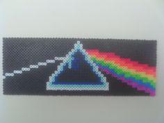 8-Bit perler beads Pink Floyd Side of the Moon by Werbenjagermanjensen on deviantart
