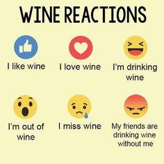 Wine Reactions