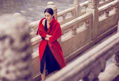 Fashion Editorial | Li Bingbing by Chen Man - DustJacket Attic