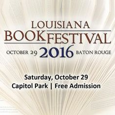 Louisiana Book Fest 'Petit Pierre and the Floating Marsh' ~ ♡♡♡ Louisiana, Downtown Baton Rouge, Book Festival, Free Admission, Book Signing, New Books, Author, Book News, Writers