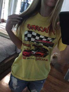Amy Reimann's vintage racing T-shirts   NASCAR.com