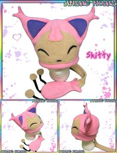 Skitty Hat with Tail by AnimeNomNoms.deviantart.com on @deviantART