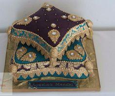 . Pillow Cakes, Pillows, Celebration Cakes, Birthday Celebration, Arabian Party, Fun Desserts, Gingerbread, Cake Decorating, Beautiful